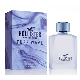HOLLISTER FREE WAVE FOR HER EDT 100 ML - HOLLISTER