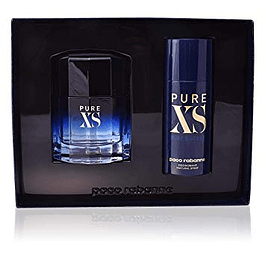 PURE XS MEN EDT 50 ML + DESODORANTE SPRAY 150 ML ESTUCHE - PACO RABANNE