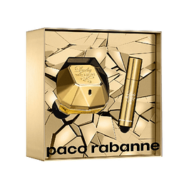 LADY MILLION EDP 50 ML + MINIATURA EDP 10 ML ESTUCHE - PACO RABANNE