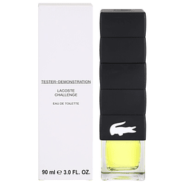 LACOSTE CHALLENGE EDT 90 ML TESTER (PROBADOR) - LACOSTE