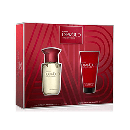 DIAVOLO EDT 50 ML + AFTER SHAVE BALM 50 ML ANTONIO BANDERAS