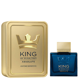 KING OF SEDUCTION ABSOLUTE EDT 100ML - ANTONIO BANDERAS