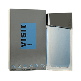 VISIT MEN EDT 100 ML - AZZARO UNIDAD