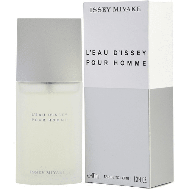 L'EAU D'ISSEY  POUR HOMME EDT 40 ML - ISSEY MIYAKE