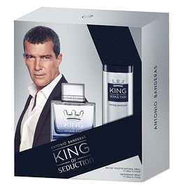 KING OF SEDUCTION 100 ML + DEO 150 ML ESTUCHE