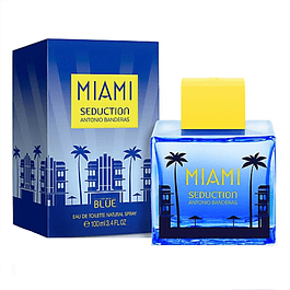 MIAMI BLUE SEDUCTION MEN EDT 100 ML - ANTONIO BANDERAS
