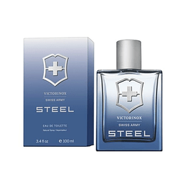 SWISS ARMY STEEL EDT 100 ML - VICTORINOX