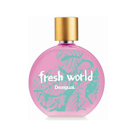 DESIGUAL FRESH WORLD WOMAN EDT 100 ML TESTER - DESIGUAL