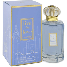 OSCAR LIVE IN LOVE NEW YORK EDP 100 ML - OSCAR DE LA RENTA