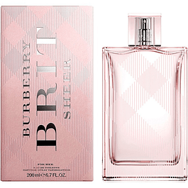 BURBERRY BRIT SHEER FOR HER EDT 200 ML - BURBERRY