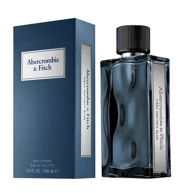 FIRST INSTINCT BLUE HOMME EDT 100 ML - ABERCROMBIE & FITCH