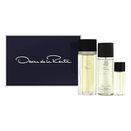 OSCAR WOMAN EDT 100 ML + 15 ML + BODY MIST 250ML - OSCAR DE LA RENTA