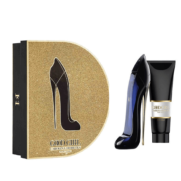 GOOD GIRL EDP 80 ML + B/L 100 ML ESTUCHE  - CAROLINA HERRERA