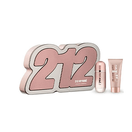 212 VIP ROSE EDP 50 ML + BODY LOCION 75 ML - CAROLINA HERRERA