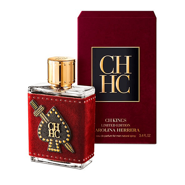 CH KINGS LIMITED EDITION EDP 100 ML - CAROLINA HERRERA