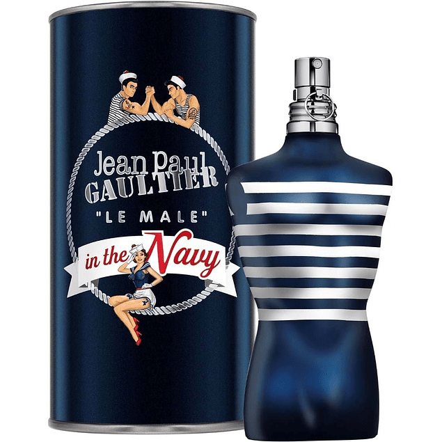 LE MALE IN THE NAVY EDT 125 ML - JEAN PAUL GAULTIER