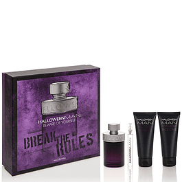 HALLOWEEN MAN EDT 125 ML + 10ML + 100ML SG + 100ML FC ESTUCHE - HALLOWEEN