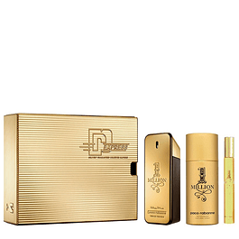 1 MILLION EDT 50 ML + 10 ML + DEO 150 ESTUCHE - PACO RABANNE