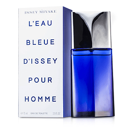 L'EAU BLEUE D'ISSEY POUR HOMME EDT 75 ML - ISSEY MIYAKE