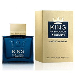 KING OF SEDUCTION ABSOLUTE EDT 50 ML -  ANTONIO BANDERAS