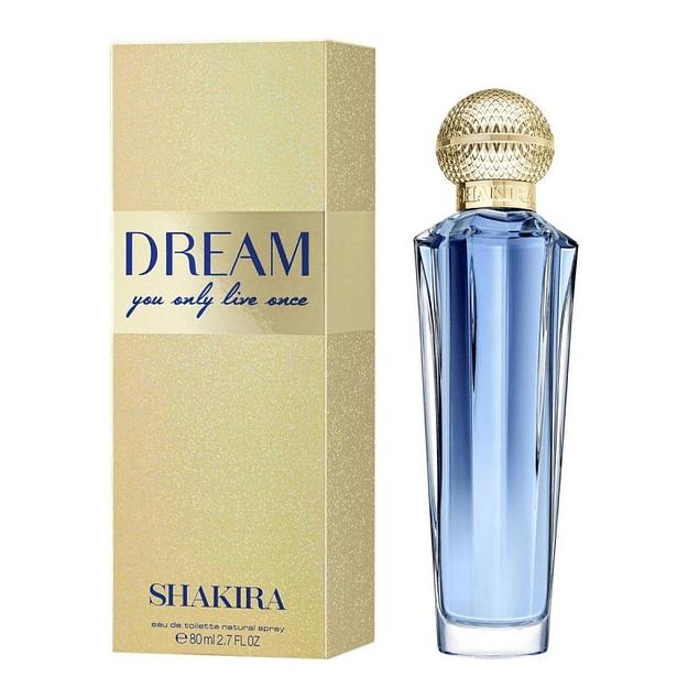 SHAKIRA DREAM EDT 80 ML - SHAKIRA