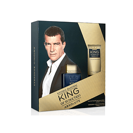 KING OF SEDUCTION ABSOLUTE 50 ML + after shave 150 ML ESTUCHE