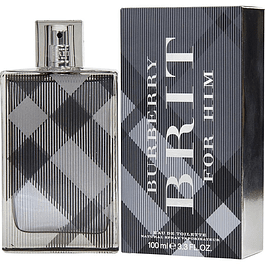 BRIT FOR HIM EDT100 ML  (NUEVO) BURBERRY UNIDAD