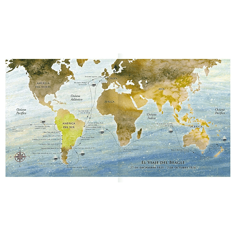 Darwin, un viaje al fin del mundo