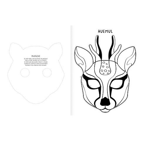 Máscaras, pinta y recorta