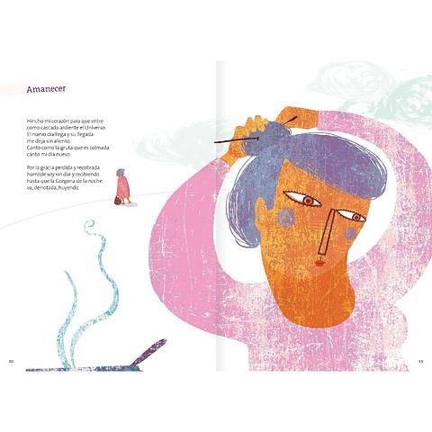 Gabriela Mistral, poemas ilustrados