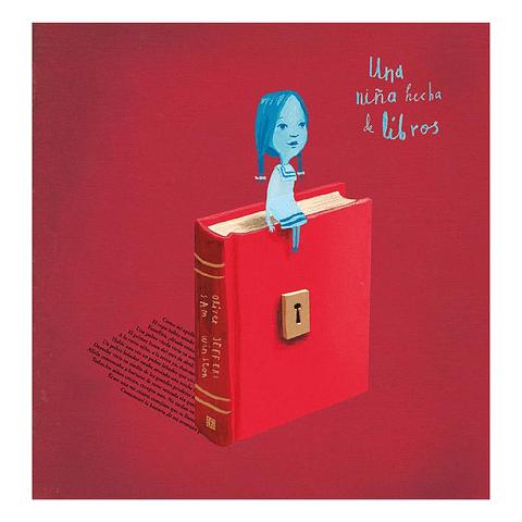 Una niña hecha de libros