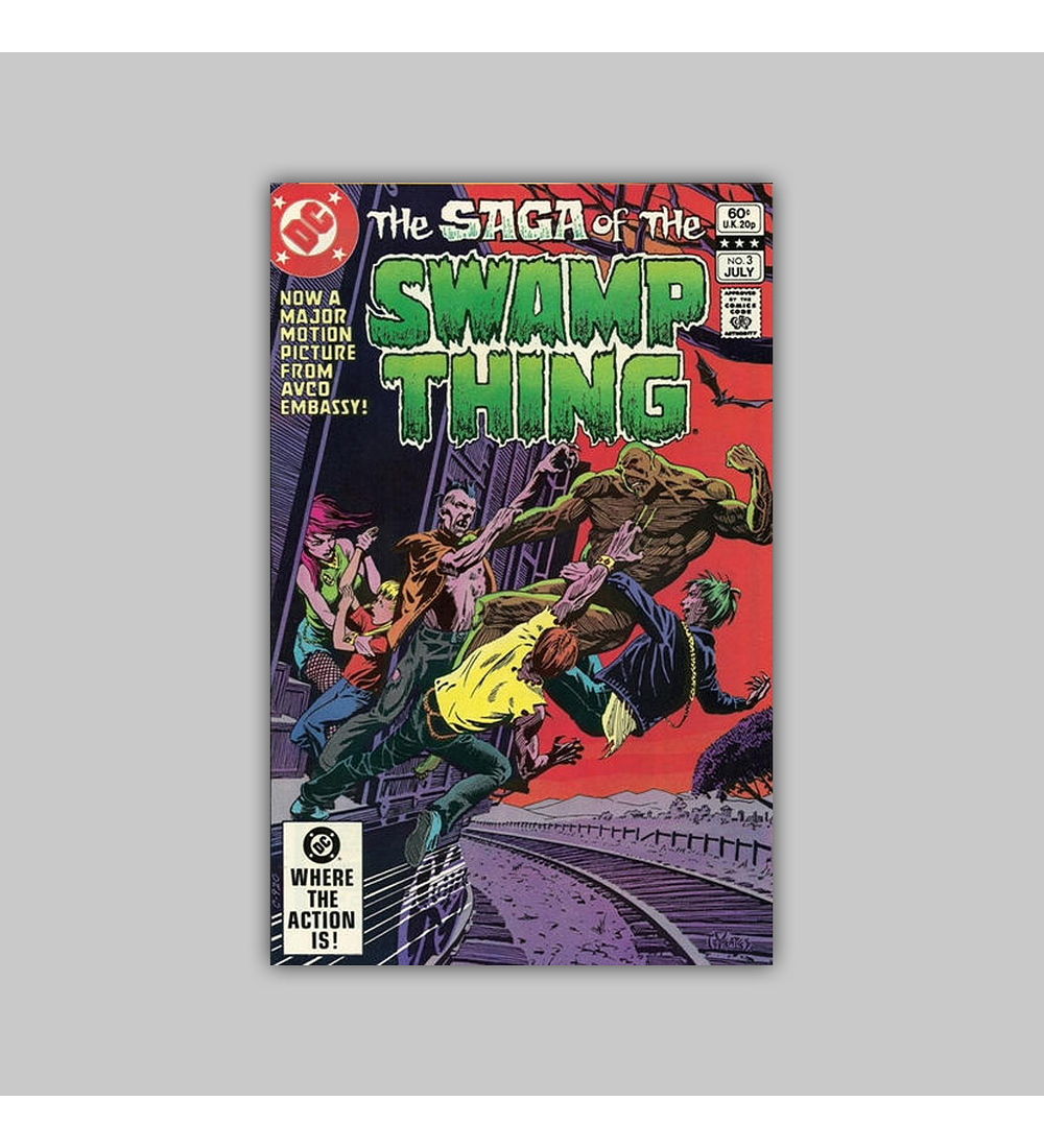 Saga of the Swamp Thing 3 1982