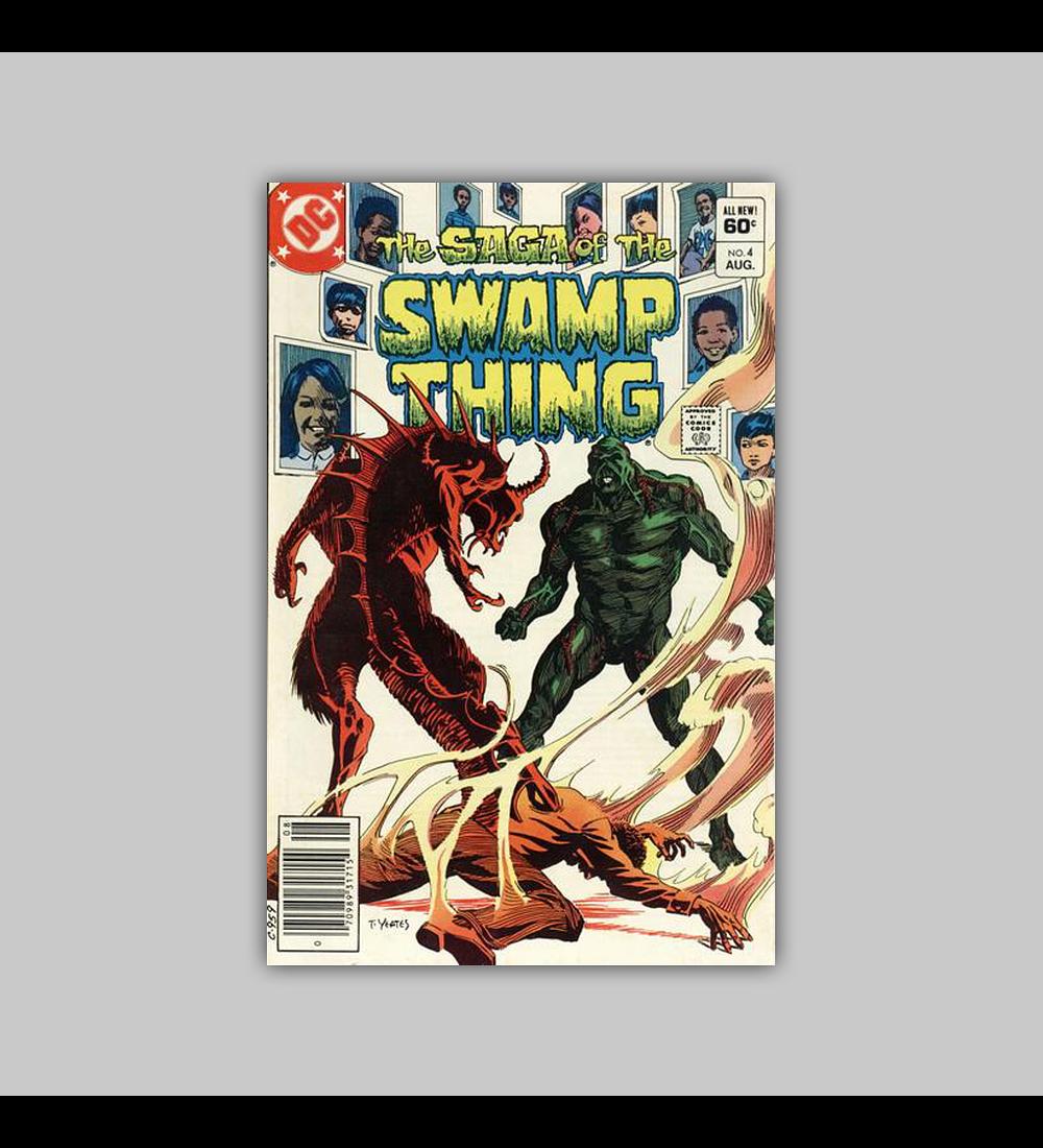 Saga of the Swamp Thing 4 1982