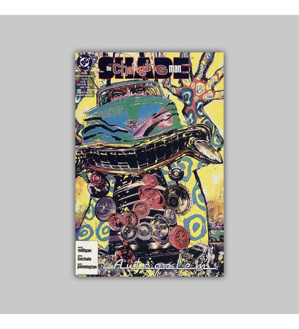 Shade the Changing Man 24 1992