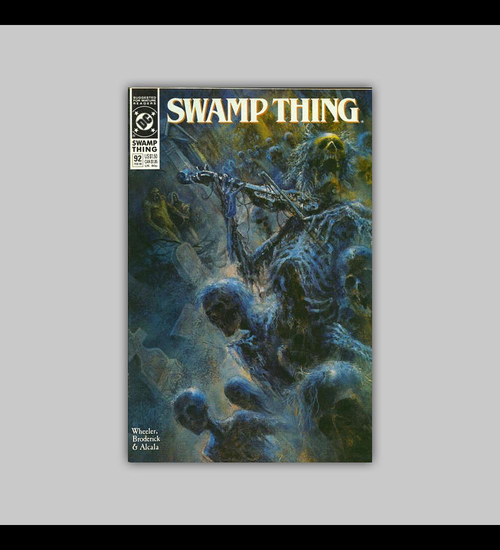 Swamp Thing (Vol. 2) 92 1990
