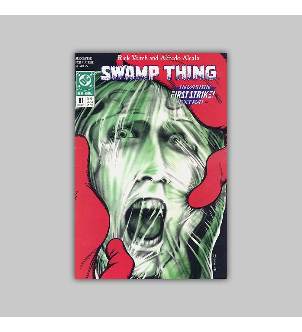 Swamp Thing (Vol. 2) 81 1988