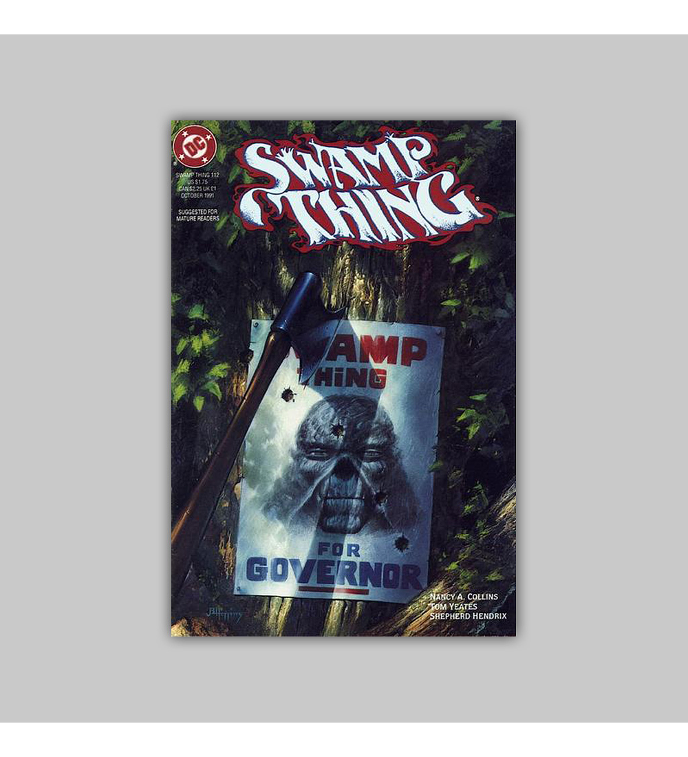 Swamp Thing (Vol. 2) 112 1991
