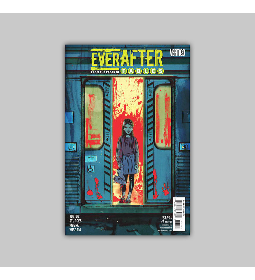 Everafter: From the Pages of Fables 5 2017
