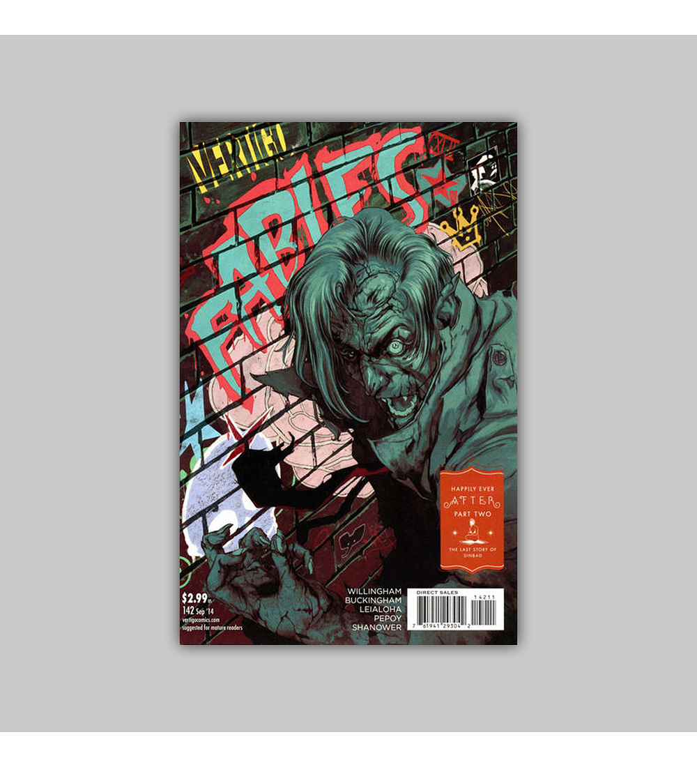 Fables 142 2014