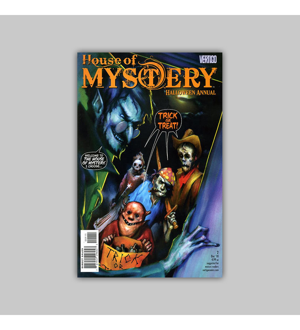 House of Mystery: Halloween Annual 2 2010