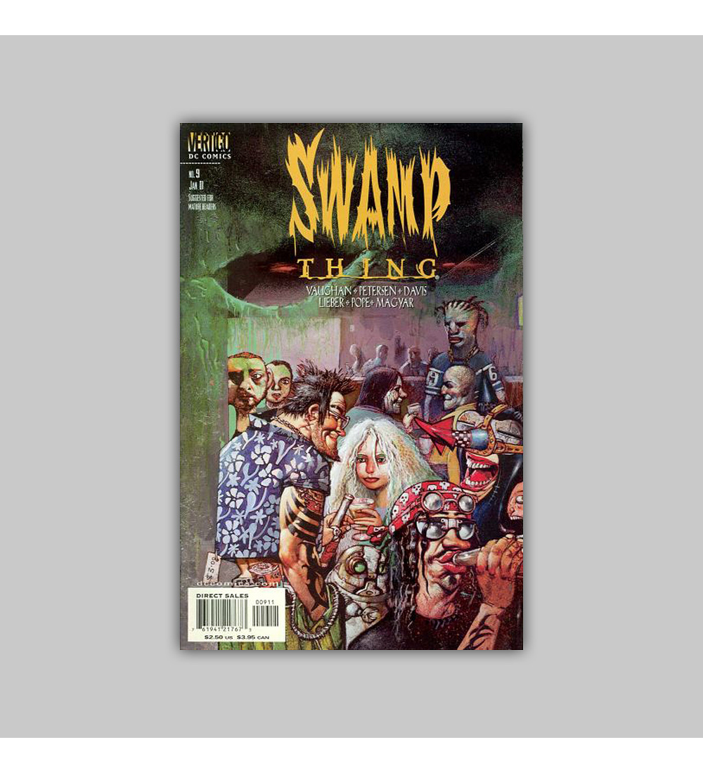 Swamp Thing (Vol. 3) 9 2001