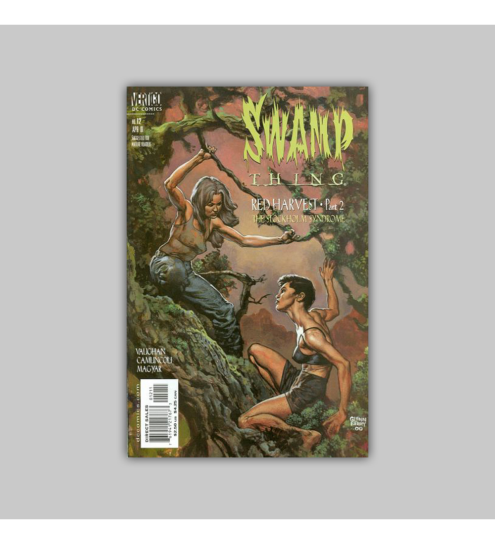 Swamp Thing (Vol. 3) 12 2001