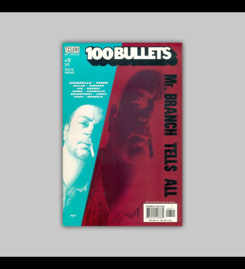 100 Bullets 26 2001