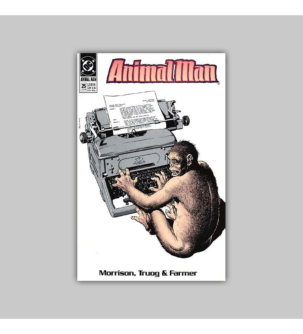 Animal Man 25 1990