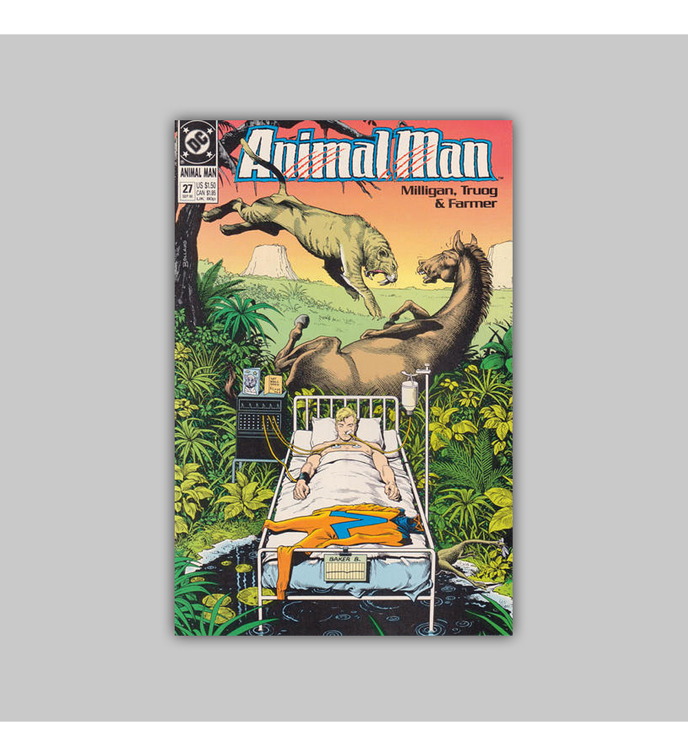 Animal Man 27 1990