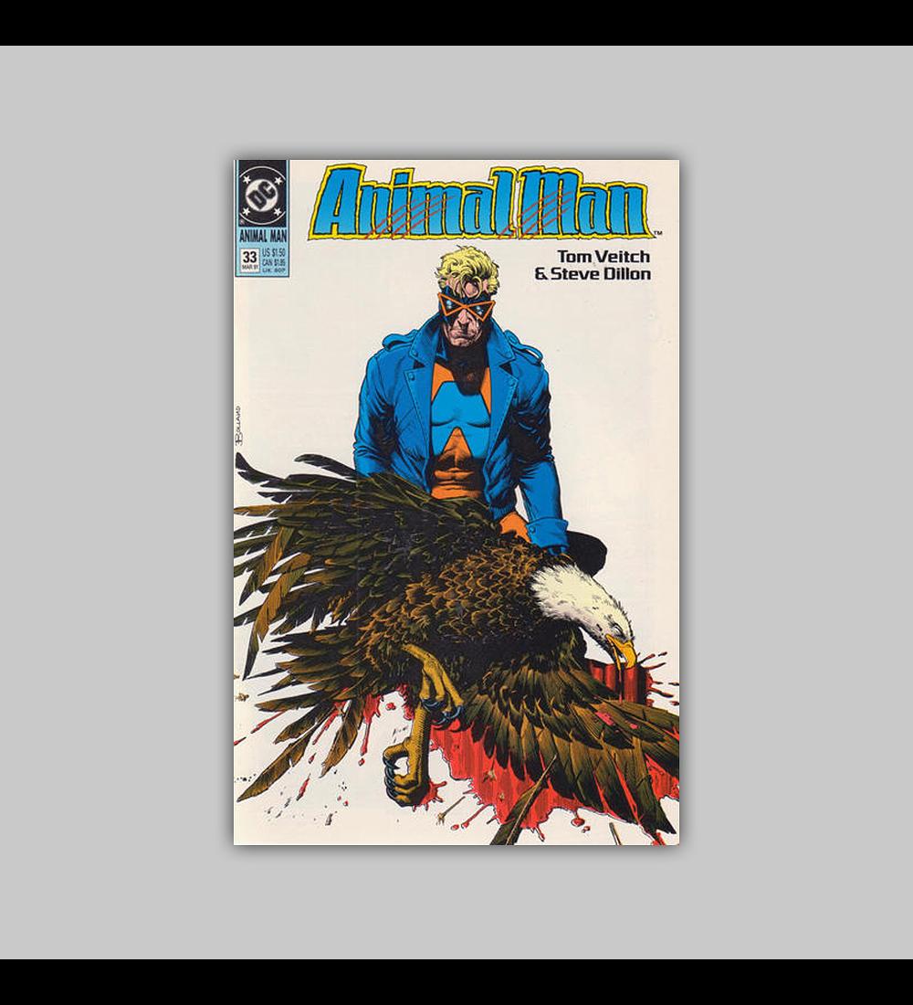 Animal Man 33 1991
