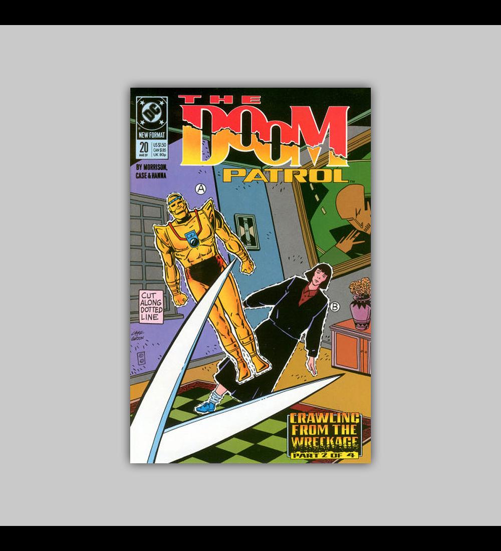 Doom Patrol 20 1989