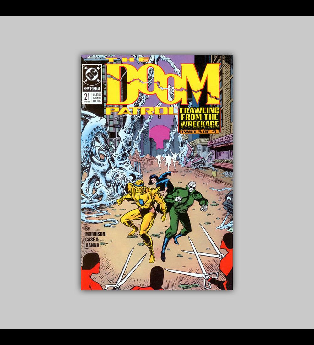 Doom Patrol 21 1989