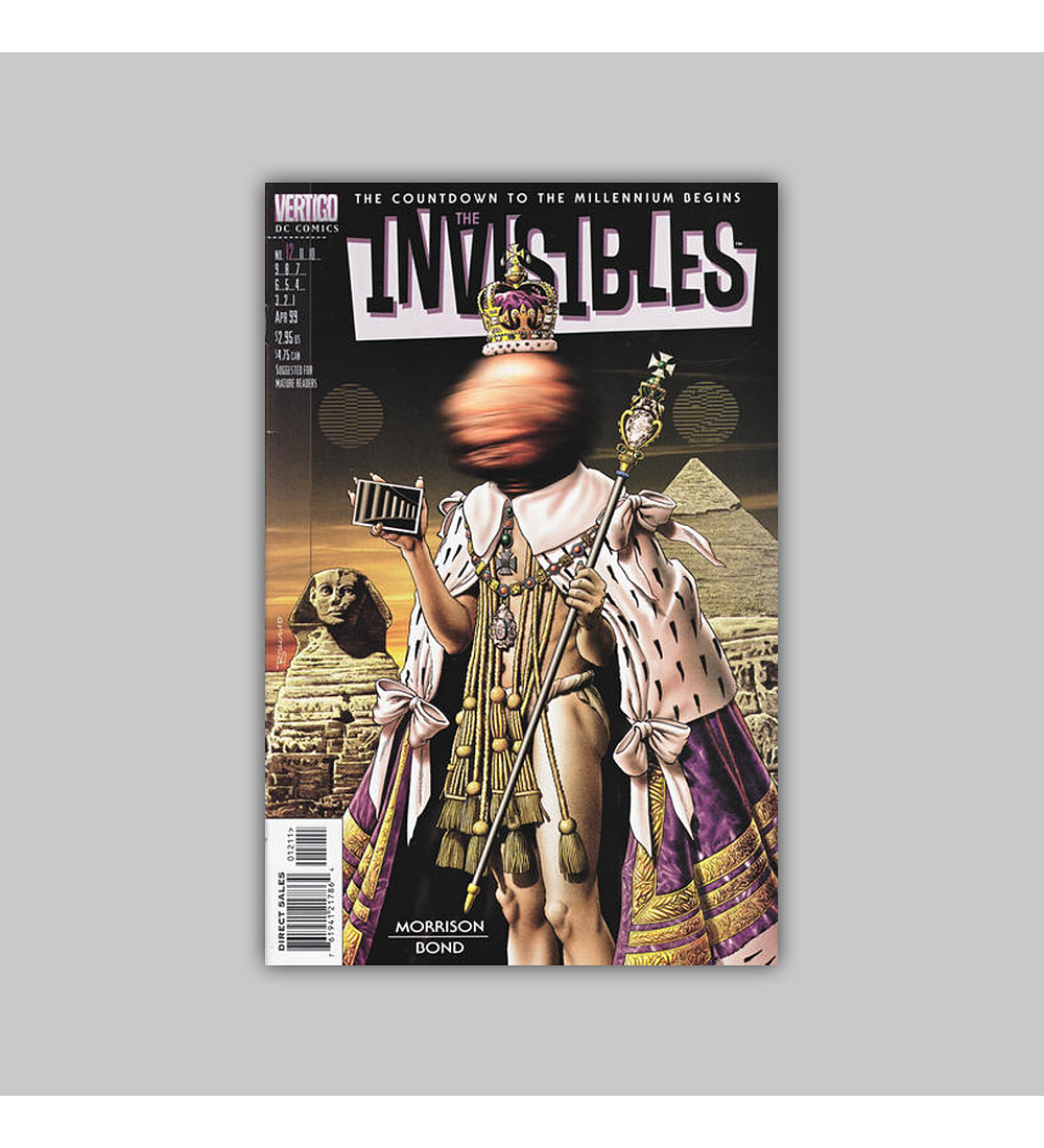 The Invisibles (Vol. 3) 12 1999