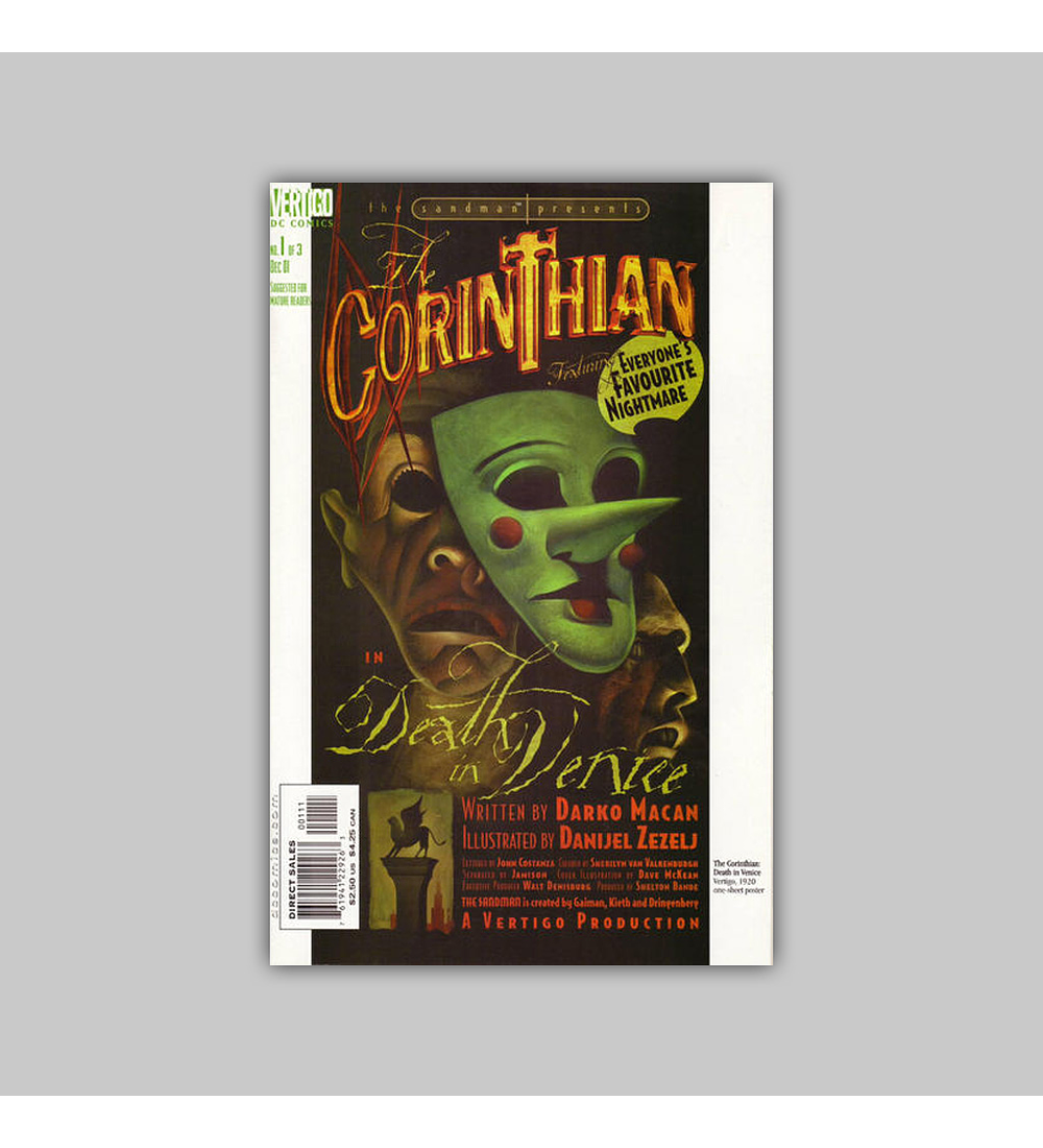 The Sandman Presents: The Corinthian 1 2001